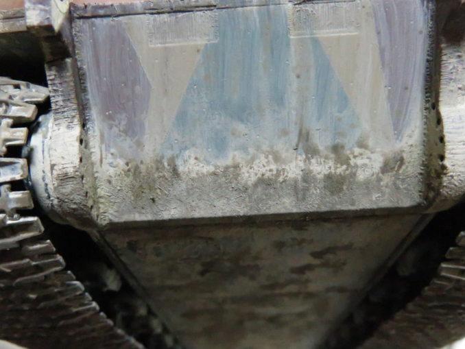 E-100 対空戦車 車体下部の泥汚れ5