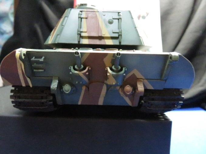 E-100 対空戦車 ストライプ迷彩の完成5