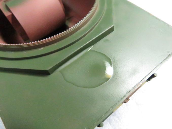 GSIクレオス プレミアムトップコート つや消し テスト塗装3