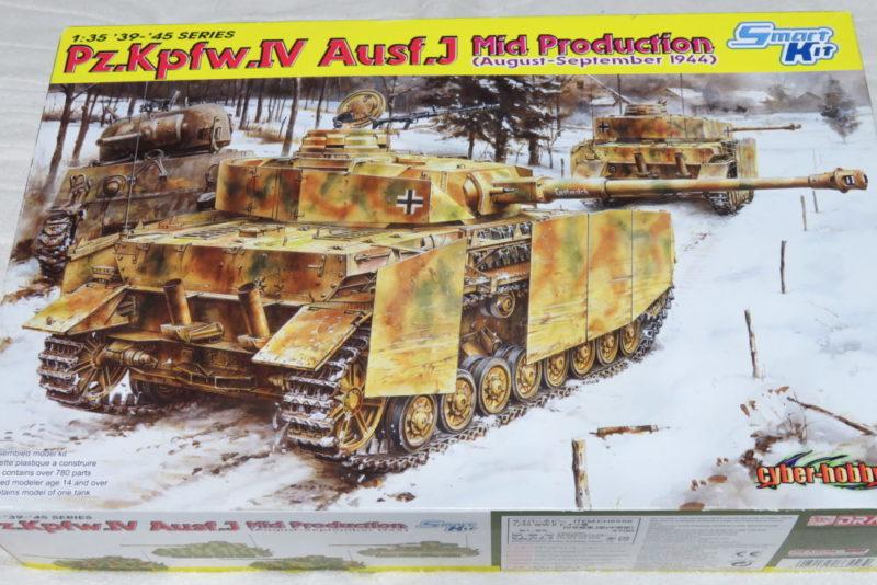 ドラゴン 4号戦車J型(中期型) 箱絵