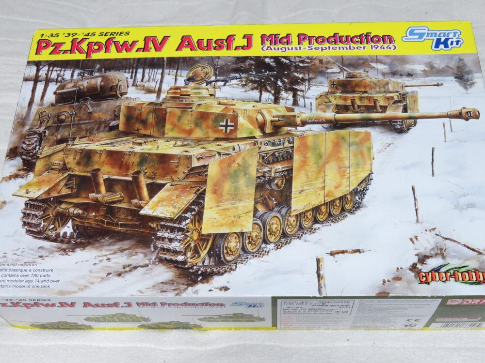 4号戦車 J型(1944年8月~7月 生産型)の製作日記まとめ