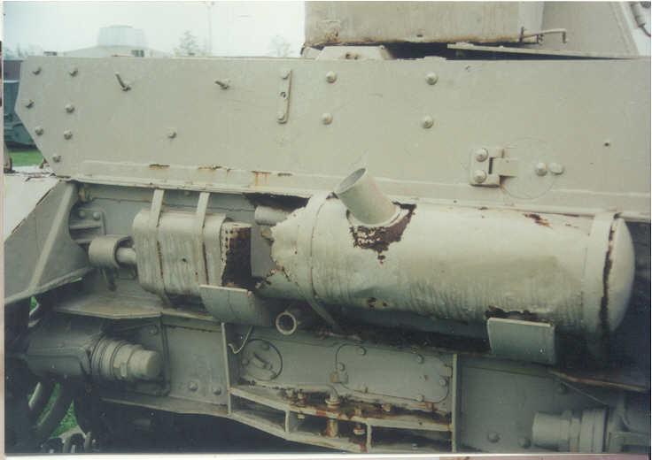 4号戦車H型の補助マフラー