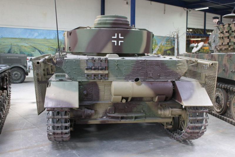 4号戦車 J型の後部