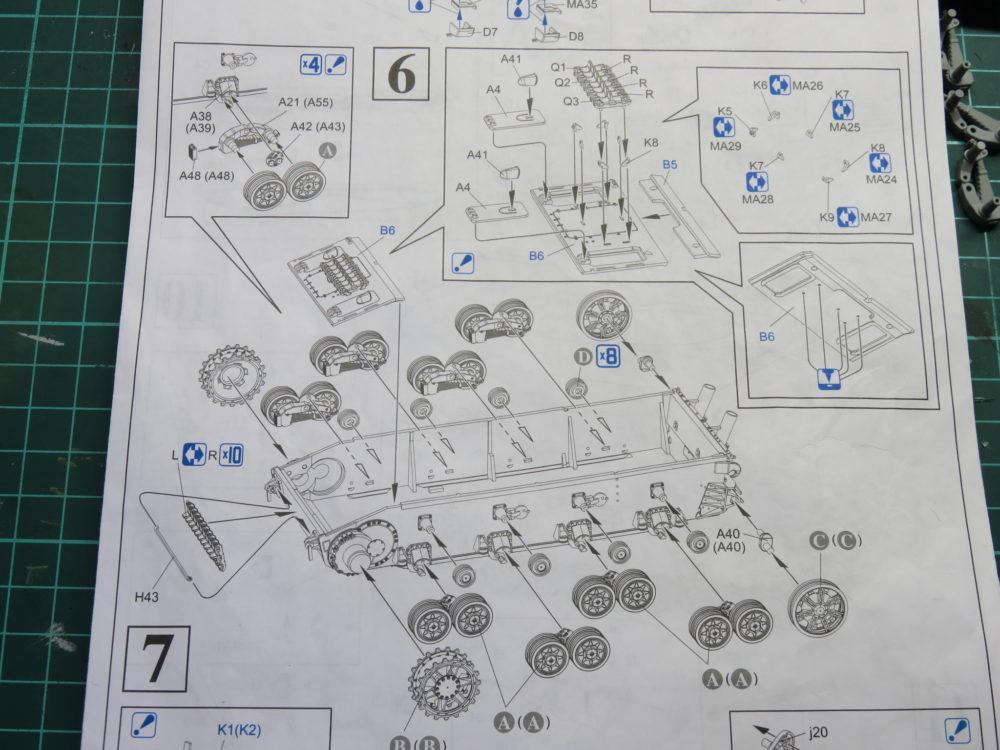 4号戦車 J型(中期) 説明書の6番目