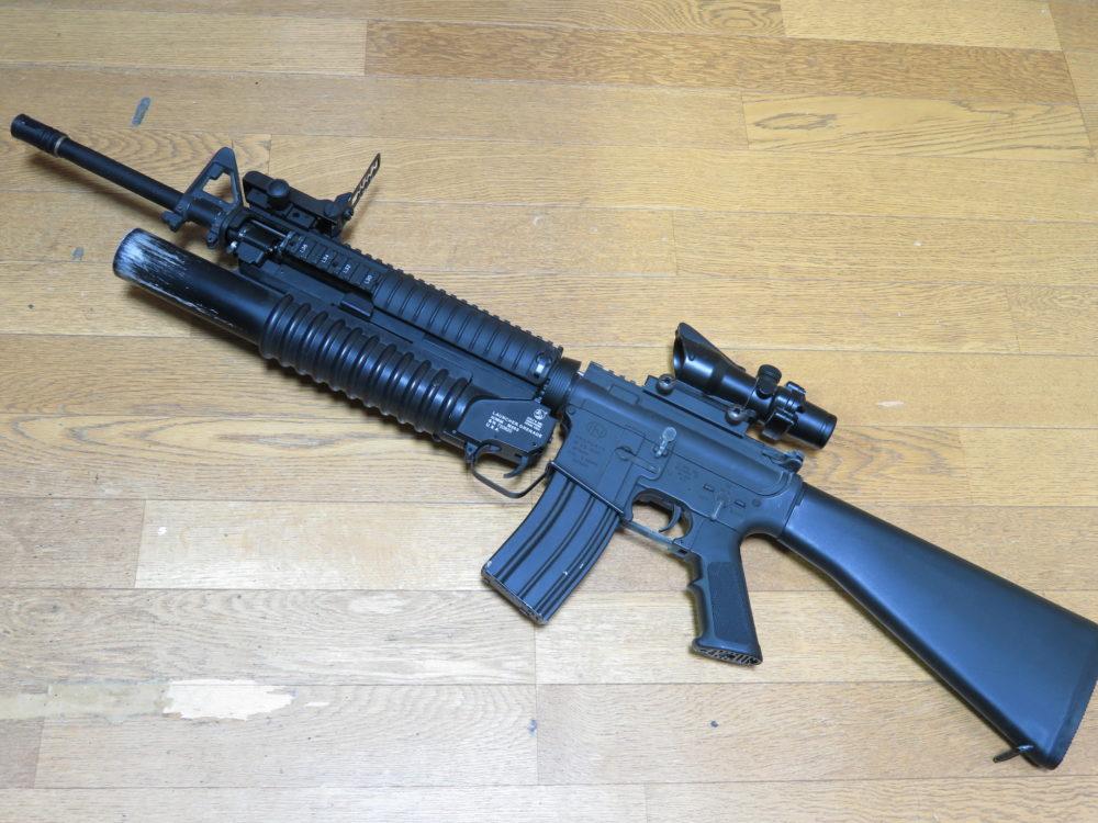 電動ガンのM16A2を「FN M16A4」にカスタムする方法