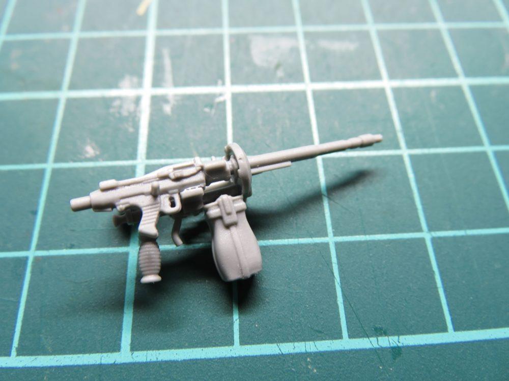 4号戦車 J型(中期型) 車載機銃の組み立て2