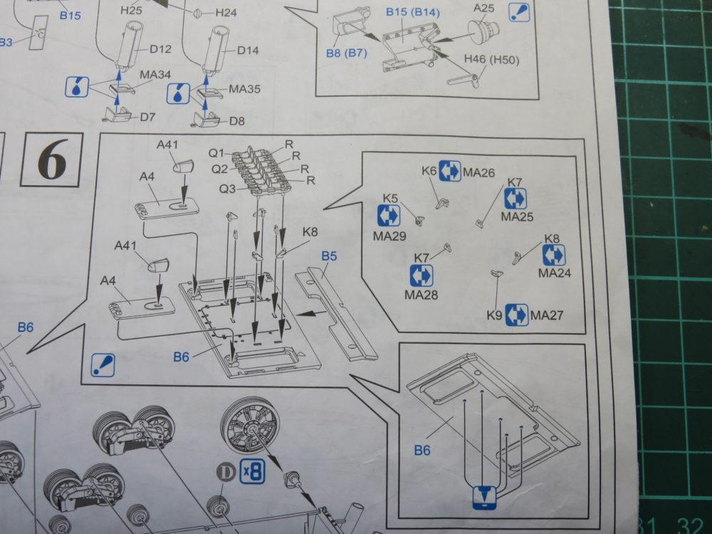 4号戦車 J型(中期)の説明書。