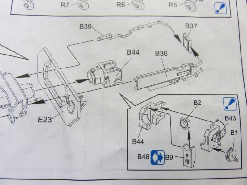 4号戦車 J型 主砲の組み立て 閉鎖機・後座ガード