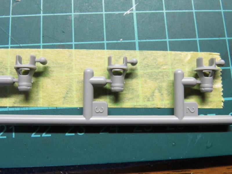 4号戦車 J型 主砲の組み立て マズルブレーキ2