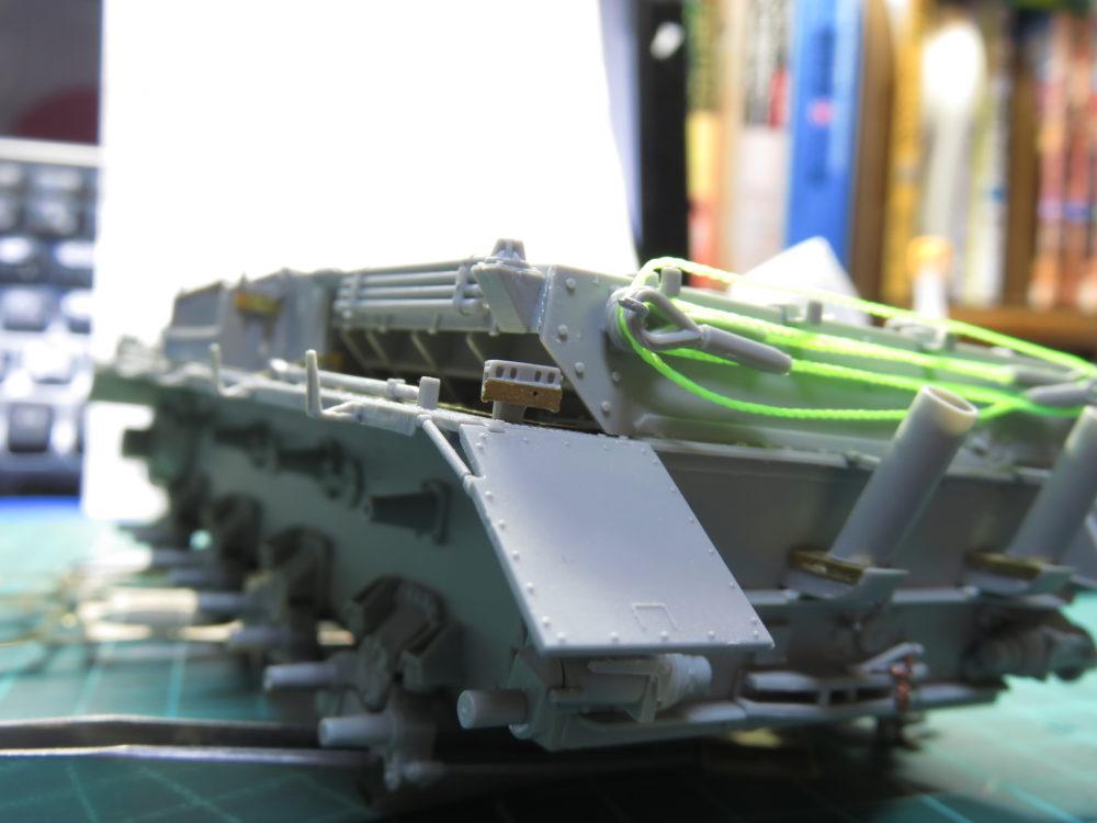 4号戦車 J型(中期型) 車間表示灯の追加