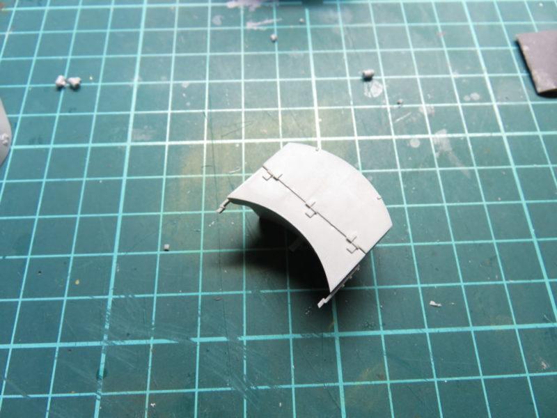 4号戦車 J型 砲塔後部のゲペックカステン(雑具箱)