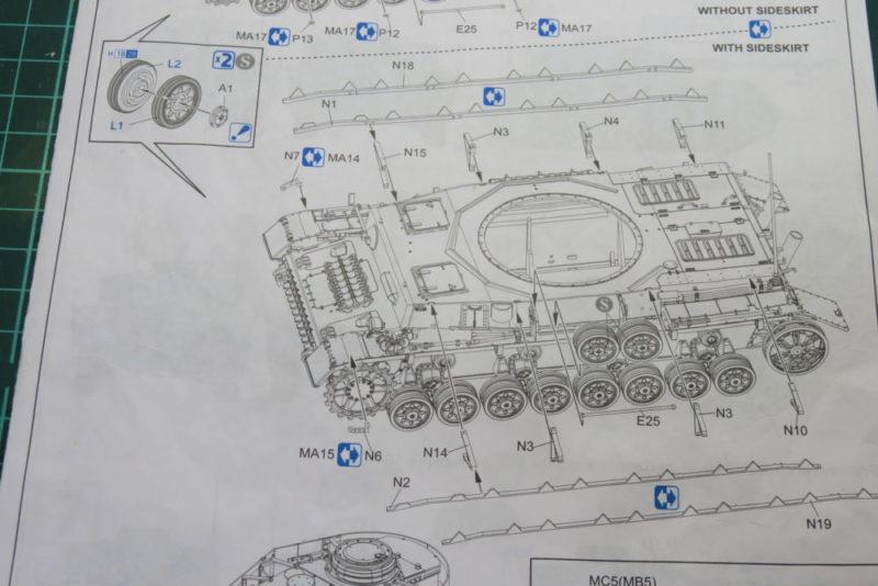 4号戦車 J型 シュルツェンありの場合