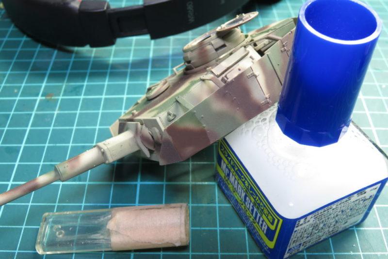 4号戦車 J型 デカールの貼り付け4