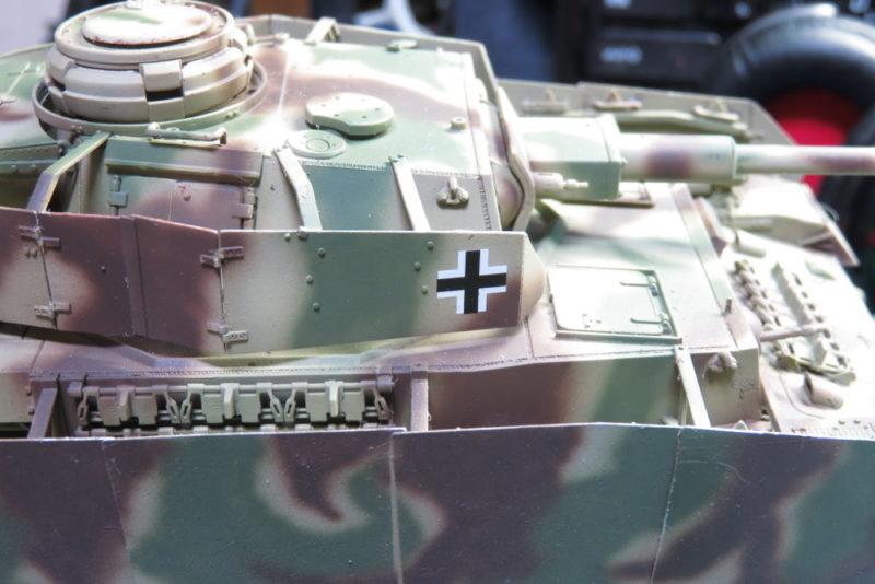 4号戦車 J型 デカールの貼り付け6