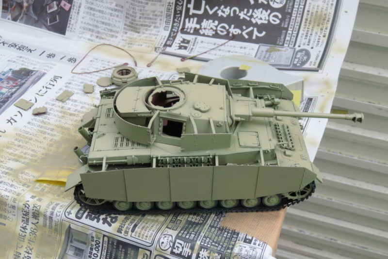 4号戦車 J型 車体基本塗装リトライ2