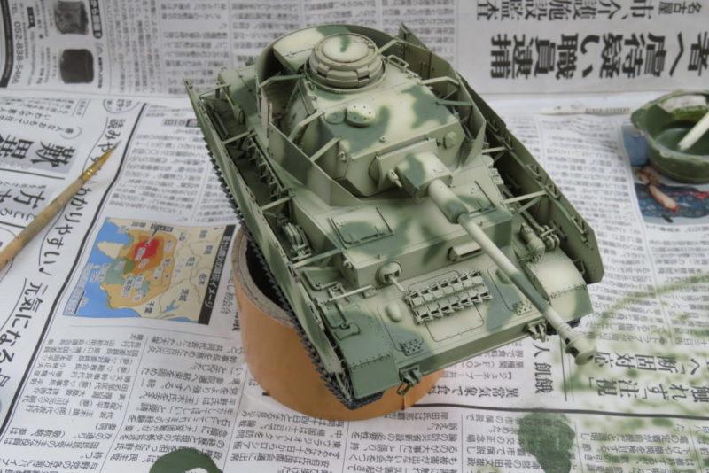 4号戦車 J型 迷彩塗装 オリーブグリーン3