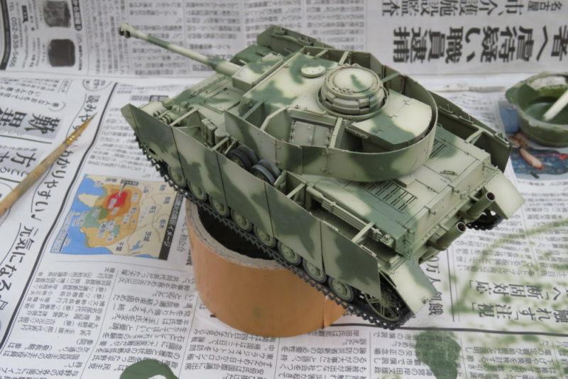 4号戦車 J型 迷彩塗装 オリーブグリーン4