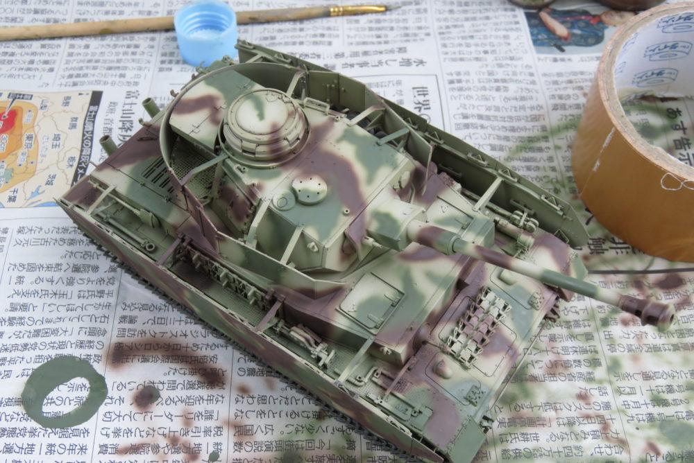 4号戦車 J型 迷彩塗装 レッドブラウン