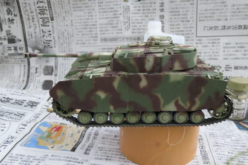 4号戦車 J型 迷彩塗装 レッドブラウン2