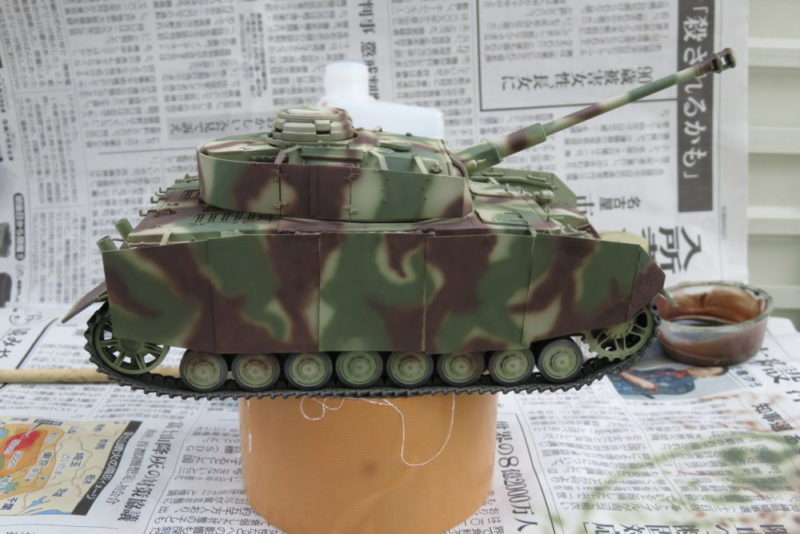 4号戦車 J型 迷彩塗装 レッドブラウン3