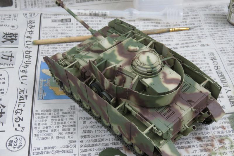 4号戦車 J型 迷彩塗装 レッドブラウン4