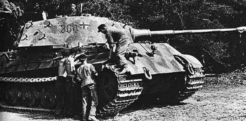 第503重戦車大隊 第3中隊 中隊長車