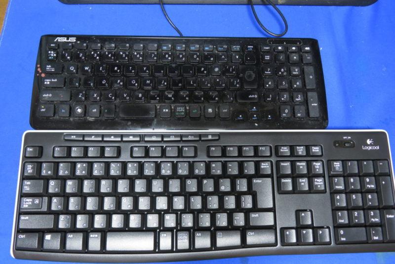 Logicool k270と今まで使ってたキーボード