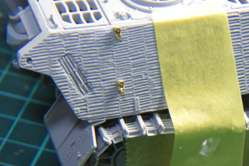 キングタイガー 牽引ロープの留め具2