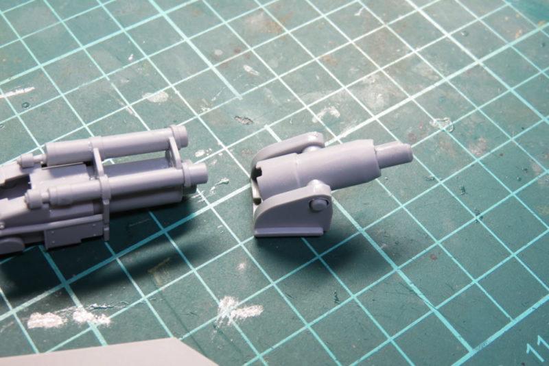 キングタイガー 8.8cm KwK43の砲尾2