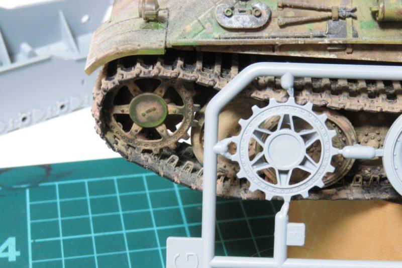 ドラゴン パンターD型V2 起動輪