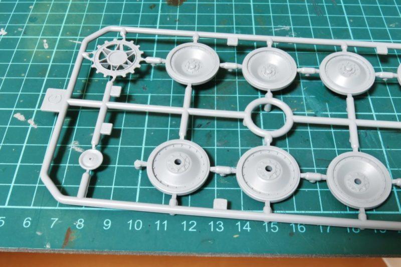 ドラゴン パンターD型V2 転輪