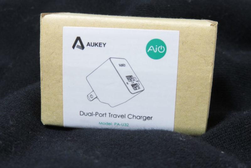 AUKEY PA-U32 USB充電器 パッケージ