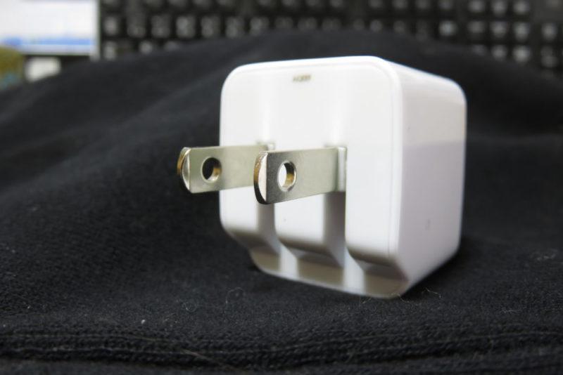 AUKEY PA-U32 USB充電器 折りたたみ式のプラグ
