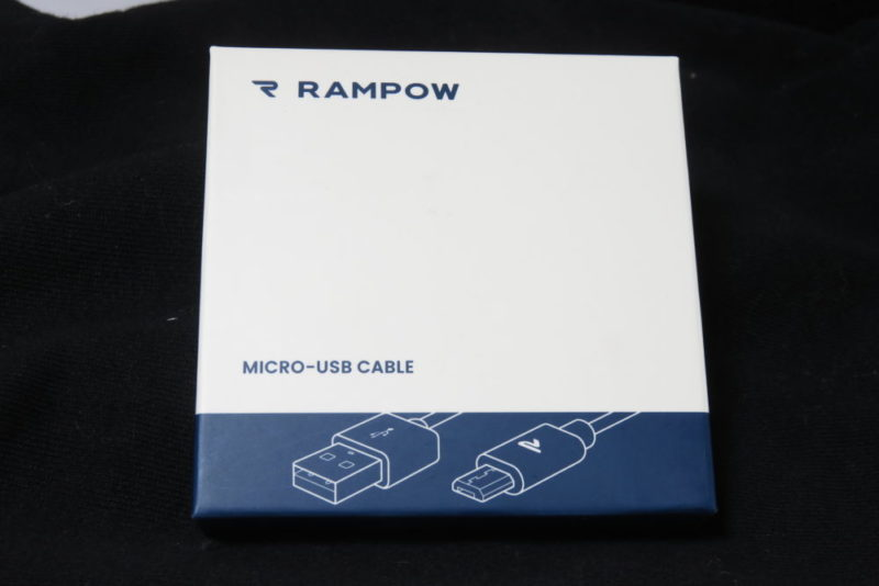 Rampow USBケーブル パッケージ