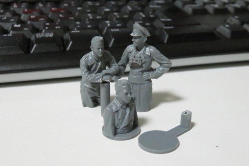 ドイツ国防軍 戦車兵セット 組み立て完了