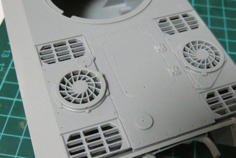 パンターD型 V2 ラジエーター用グリル