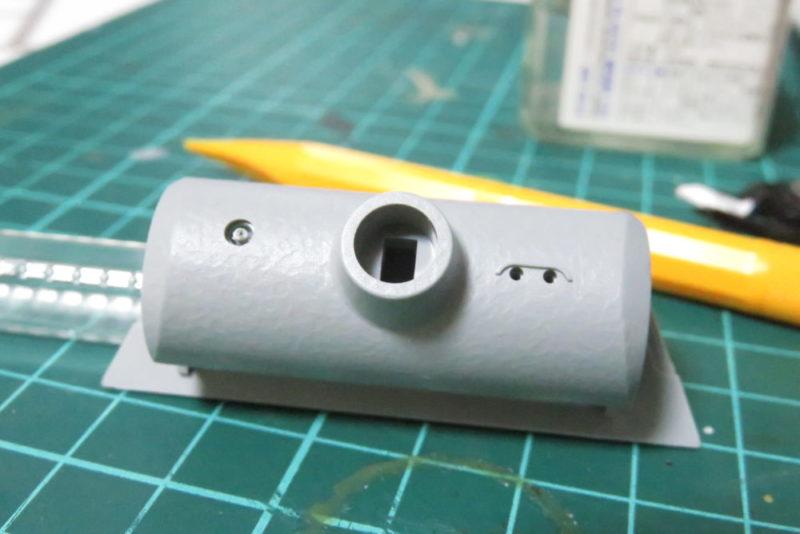 パンターD型 V2 防盾の組み立て4