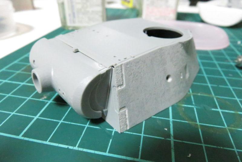 パンターD型 V2 防盾の組み立て6