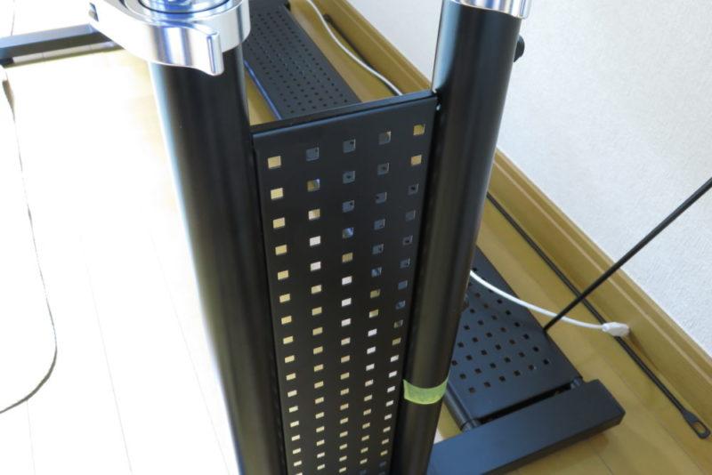 Bauhutte ゲーミングデスクHD パンチングボード