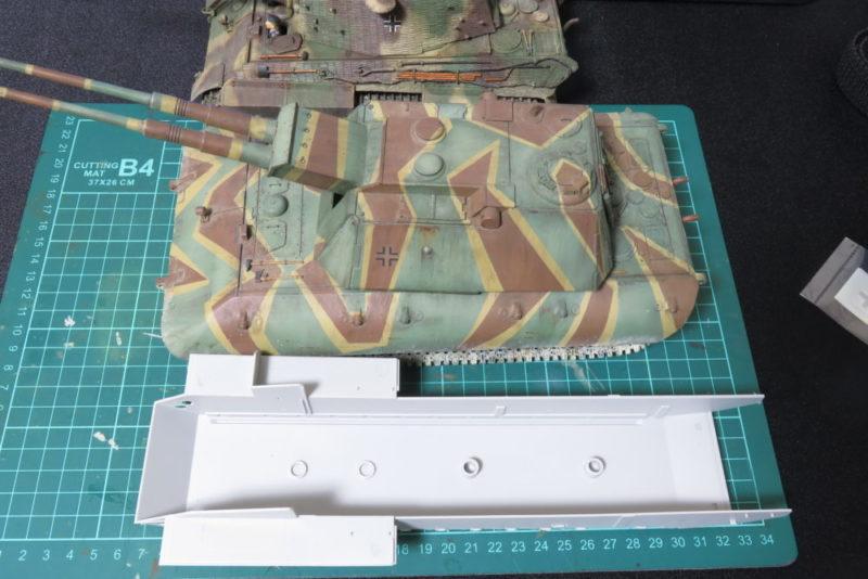 グリレ17 車体シャーシ E-100 対空戦車と比較