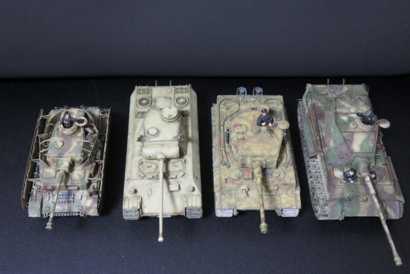 パンターD型 V2とドイツ主力戦車