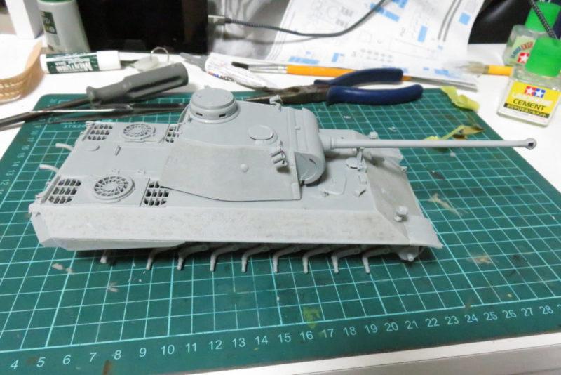 パンターD型 V2 組み立て完了2