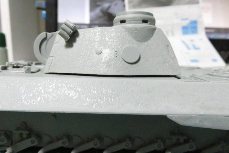 パンターD型 V2 車体と砲塔の隙間