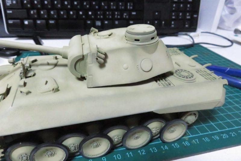 パンターD型 V2 ハイライト塗装