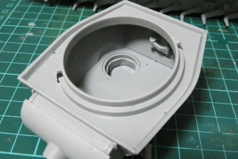 パンターD型V2 砲塔底部