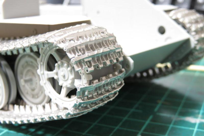 フリウル 金属履帯 仮組み2