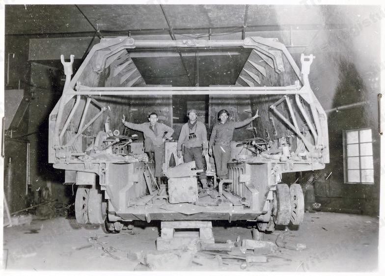 Geschützwagen Tiger 戦闘室