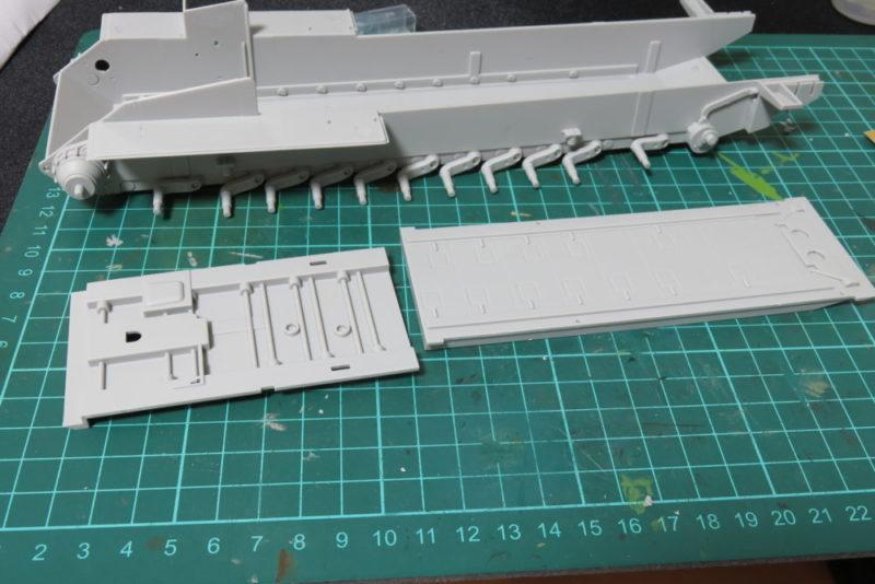グリレ17 シャーシ内部の組み立て2