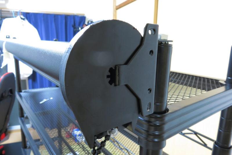 バウヒュッテ スクリーンラック BHS-1025SR ロールスクリーン取り付け