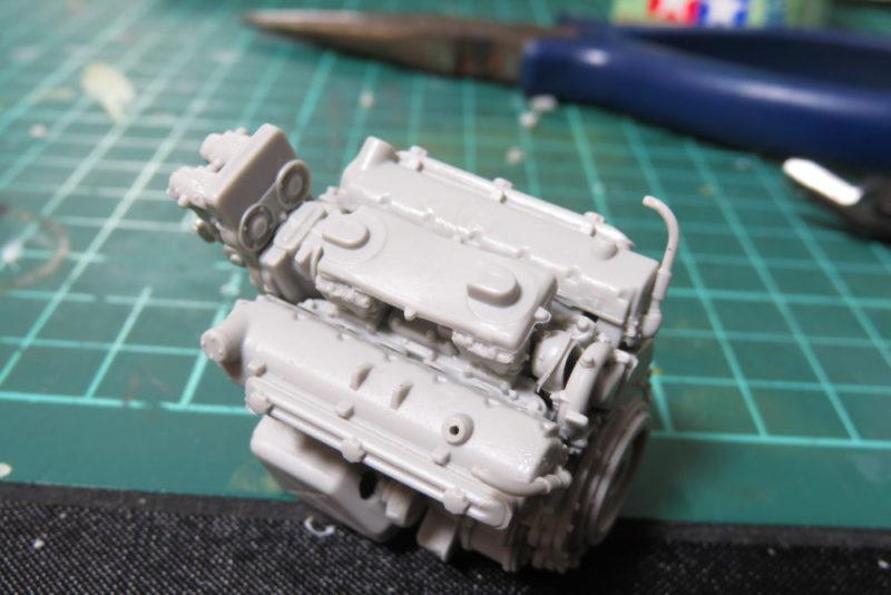 グリレ17 エンジンの組み立て3